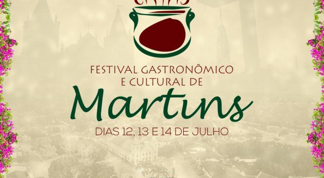 Confira as atrações do Festival Gastronômico e Cultural de Martins/RN