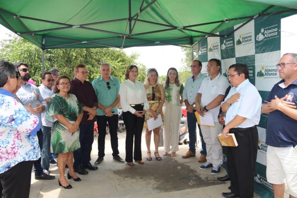 Emenda de Zenaide possibilita reinauguração do centro cirúrgico em Almino Afonso